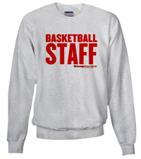 Basketball Staff Sweat Shirt
