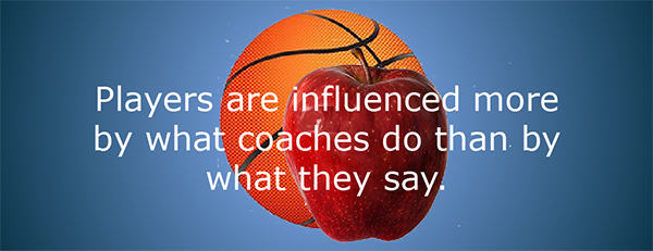 Players influenced by what coaches do not say